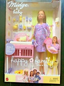 2002 Brand New Pregnant Midge & Baby Happy Family Catalog Number 56663