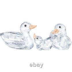 2019 Swarovski #5376422 Ducks Brand New In Box Crystal Cute Love Family Duck F/s