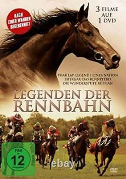 3 Horsemovies Phar Lap, Ruffian, Shergar BRAND NEW SEALED UK REGION 2 DVD PAL