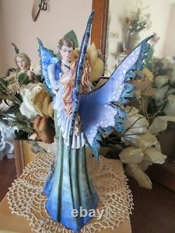 9 1/2 Amy Brown FAIRY FAMILY with baby Fairy Figurine Brand New In Box