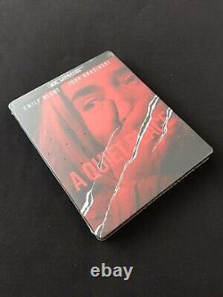 A QuieT PLaCe 4K+blu-ray+d/c Limited EditioN sTeeLBooK VHTF BRaND NeW