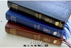 Academy Study Bible KJV Blue / Silver, E G White Comments & More BRAND NEW