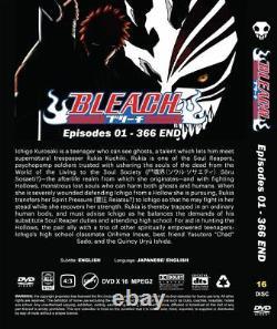 BLEACH (VOL. 1 366 End) All Region Brand New Seal English DUBBED Version