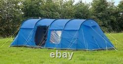 BRAND NEW Hi-Gear Kalahari Eclipse 8 Person Family Tent in Blue