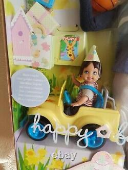 Barbie Happy Family 1st Birthday Alan, Ryan, Car & Accessories Brand New In Box