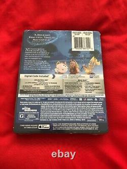 BeauTy And The BeasT (1991 film) 4K+blu ray+d/c sTeeLBooK BRaND NeW