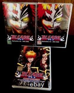 Bleach (Vol. 1 366 End + Bonus 4 Movie + OVA) All Region Brand New Seal