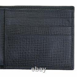 Brand New Dolce & Gabbana Dg Family Men's Black Leather Bifold Wallet Bp1321