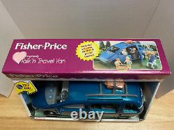 Brand New! Fisher Price Loving Family Dollhouse Talk N Travel Mini Van