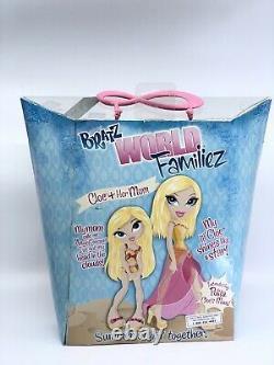 Bratz Dolls World Familiez, Families, Cloe & Her Mom, Polita! Brand New