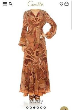Camilla Family Gathering Dress Wrap Dress (brand New)