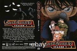 Case Closed Collection (Season 1 10) All Region Brand New & Factor Seal