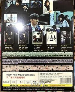 Death Note (2015 TV Series + All Movie Collection) All Region Brand New