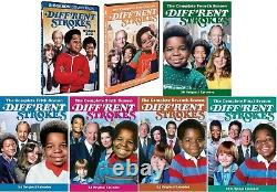 Different Diff'rent Strokes Complete Series Seasons 1-8 DVD Brand NEW Rare 80's