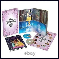 Disney Princess 12 Movie Collection Boxset Brand New DVD Boxset