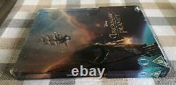 Disney Treasure Planet Limited ZavviEmbossed Steelbook RARE Brand New Sealed