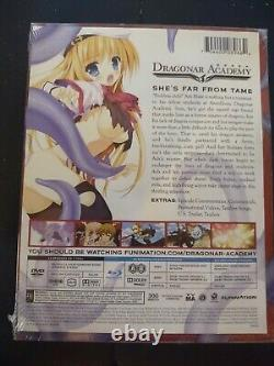 Dragonar Academy Limited Edition (Blu-ray Disc, DVD, 2015, 4-Disc Set) Brand New