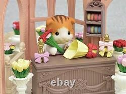 EPOCH Sylvanian Families BLOOMING FLOWER SHOP TS-13 Town Series Brand New