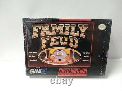 Family Feud Super Nintendo Brand New Factory Sealed SNES