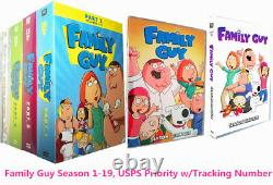 Family Guy Season 1-19 DVD Box Set The Most Complete Series US Seller Brand New