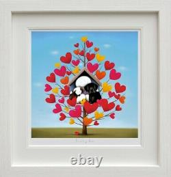Family Tree by Doug Hyde. Brand New with COA. FRAMED. In Stock