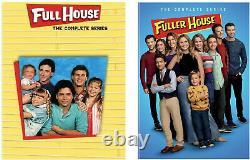 Full House Seasons 1-8 & Fuller House Seasons 1-5 Complete Series DVD Brand NEW