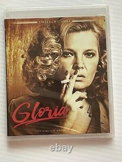 GLORIA Blu-Ray John Cassavetes Gena Rowlands TWILIGHT TIME Limited BRAND NEW OOP
