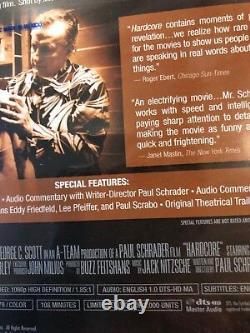 HARDCORE Blu-Ray TWILIGHT TIME GEORGE C. SCOTT BRAND NEWithSEALED OOP