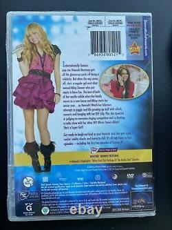 Hannah Montana Forever DVD Brand New Sealed Super Rare Collectible