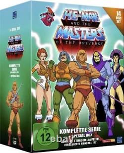 He-Man And The Masters of The Universe -Complete 14 DVD Box Set BRAND NEW R2 DVD