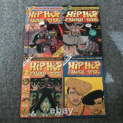 Hip Hop Family Tree Complete Collection Vol 1, 2, 3 & 4. Ed Piskor. Brand New