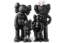 KAWS FAMILY Figures Black SS21 BRAND NEW IN BOX SHIPPED Order