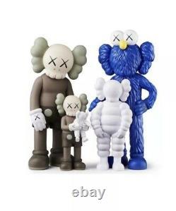 KAWS FAMILY Figures Set Brown/Blue/White BRAND NEW SHIPS TODAY