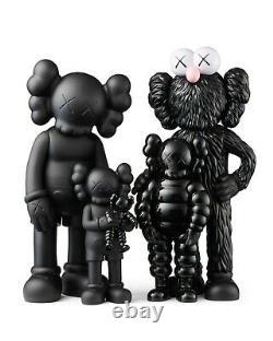 Kaws Family Black Order Confirmed Brand New in Box Companion Chum Bff