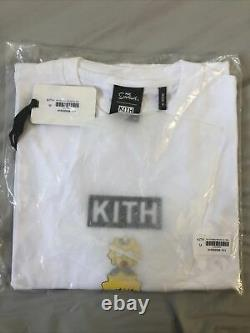 Kith Simpsons Family Stack Tee Size M White BRAND NEW IN HAND FAST SHIPPING