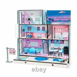 L. O. L. Surprise Real Wood House + New Family 85+ Surprises Multicolor BRAND NEW