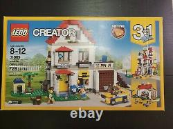 LEGO Creator 31069 Modular Family Villa 3 in 1 Building Set brand new Retired