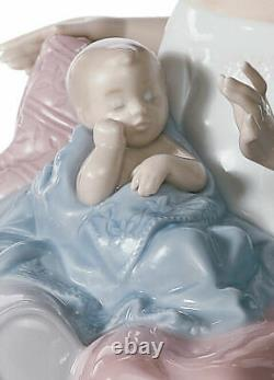 Lladro A Circle Of Love Brand New In Box #6986 Family Baby Newborn Save$$ F/sh