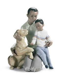 Lladro A Moment To Remember Family Figurine #6815 Brand Nib Black Save$$ F/sh