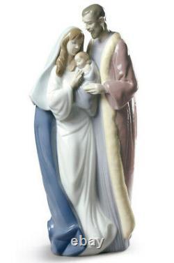 Lladro Blessed Family Brand Nib #9218 Holy Family Jesus Christmas Save$$ Free Sh