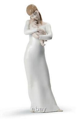 Lladro Goodnight My Angel #8714 Brand Nib Mother & Baby Love Family Large Save$$