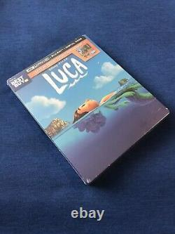 LuCa 4K+blu ray+d/c Limited EditioN sTeeLBooK 2-MiNOR DENTS BRaND NeW