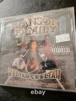 MANSON FAMILY HELTAH SKELTAH Brand New Sealed TOMMY WRIGHT III Memphis rap