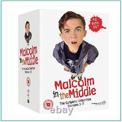 Malcolm In The Middle- Complete Seasons 1 2 3 4 5 6 & 7 Brand New Boxset