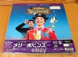 Mary Poppins Limited Edition Letterbox Laserdisc Box Set Brand New & Factory Sea