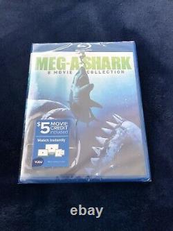 MegASHarK 8 Movie Collection blu ray multi-disc set VHTF BRaND NeW