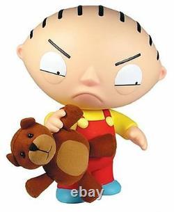 Mezco Family Guy Giant Deluxe Talking Stewie & Rupert 12 31cm Tall Brand New
