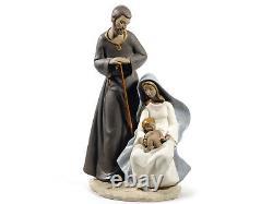Nao By Lladro #12007 The Holy Family Gres Brand Nib Large Nativity Xmas F/sh