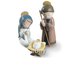 Nao By Lladro 3-piece Nativity Set #327 Brand New In Box Holy Family Save$$ F/sh