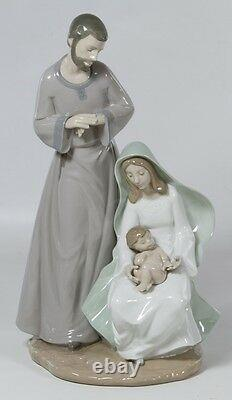 Nao By Lladro The Holy Family #1402 Brand New In Box Jesus Mary Joseph Save$ F/s